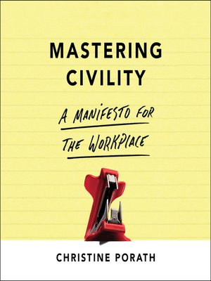 cover image of Mastering Civility
