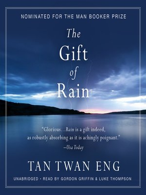 cover image of The Gift of Rain