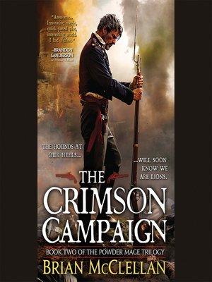 cover image of The Crimson Campaign