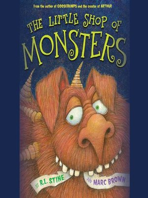 cover image of The Little Shop of Monsters