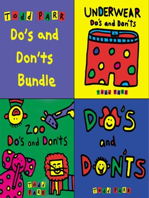 cover image of Todd Parr's Do's and Don'ts Bundle
