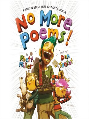 cover image of No More Poems!