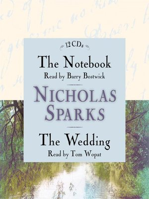 cover image of The Notebook / The Wedding