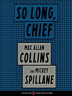 cover image of So Long, Chief