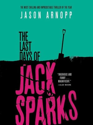 cover image of The Last Days of Jack Sparks
