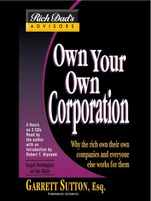 cover image of Own Your Own Corporation
