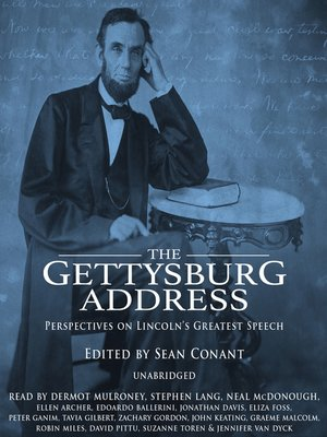 cover image of The Gettysburg Address