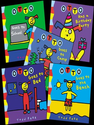 cover image of Todd Parr's Otto Bundle