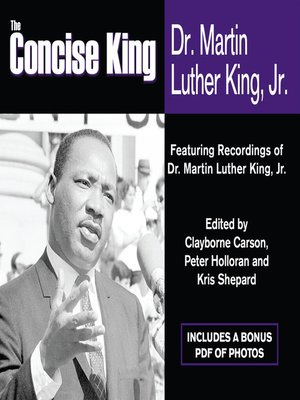 cover image of The Concise King