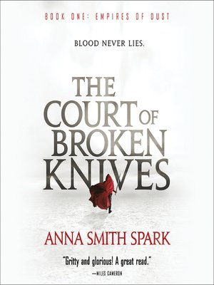 cover image of The Court of Broken Knives