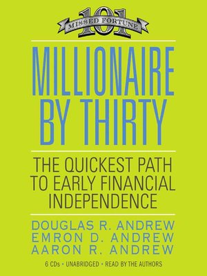cover image of Millionaire by Thirty