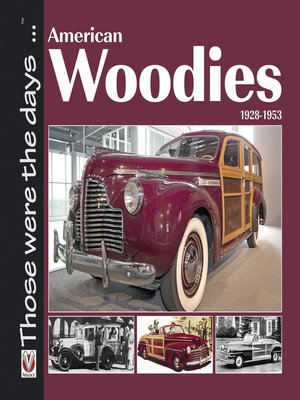 cover image of American Woodies, 1928-1953