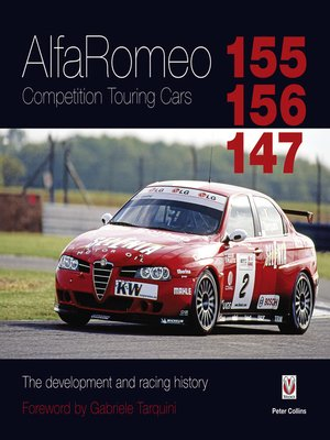 cover image of Alfa Romeo 155/156/147 Competition Touring Cars