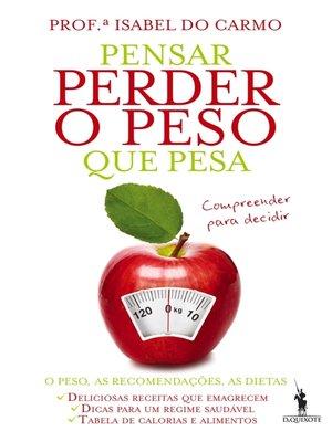 cover image of Pensar Perder o Peso que Pesa