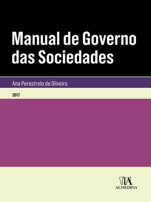 cover image of Manual de Governo das Sociedades