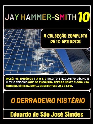 cover image of Jay Hammer-Smith 10--O Derradeiro Mistério
