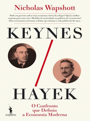 cover image of Keynes Hayek