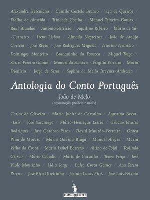 cover image of Antologia do Conto Português