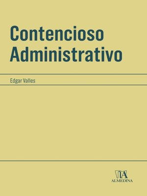 cover image of Contencioso Administrativo