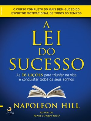 cover image of A Lei do Sucesso