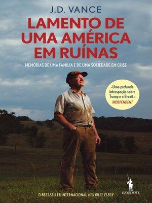 cover image of Lamento de Uma América em Ruínas