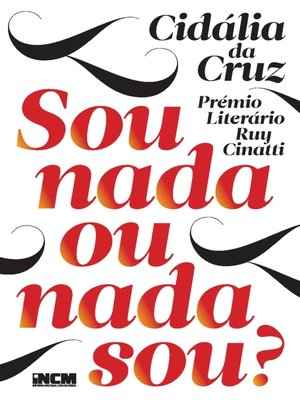 cover image of Sou nada ou nada sou?