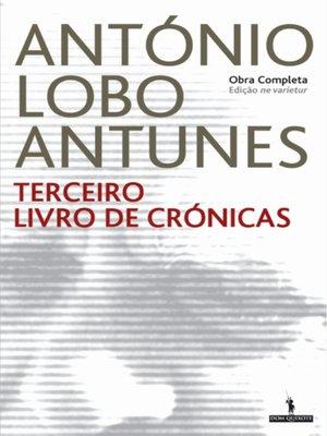 cover image of Terceiro Livro de Crónicas