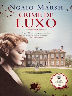 cover image of Crime de Luxo