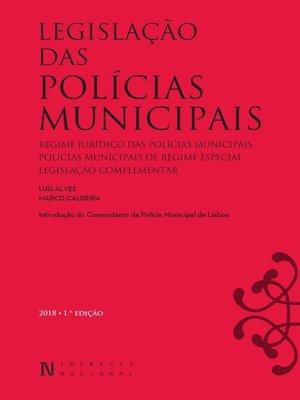 cover image of Legislação das Polícias Municipais