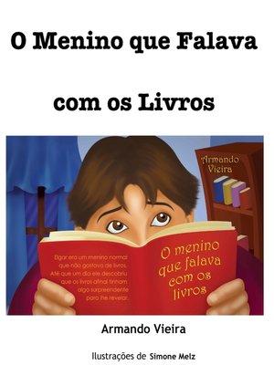cover image of O menino que falava com os livros