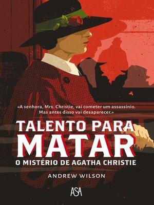 cover image of Talento Para Matar