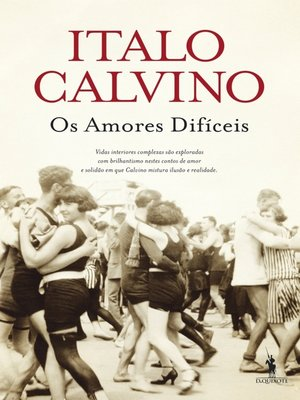 cover image of Os Amores Difíceis