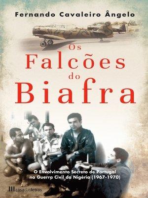cover image of Os Falcões do Biafra