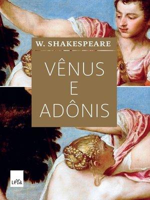 cover image of Vênus e Adônis