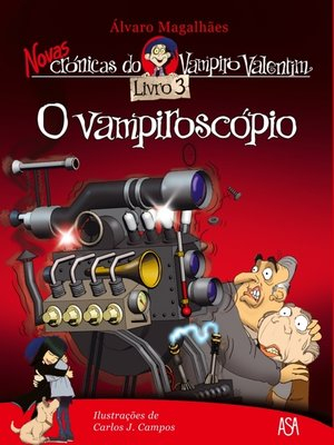 cover image of O vampiroscópio