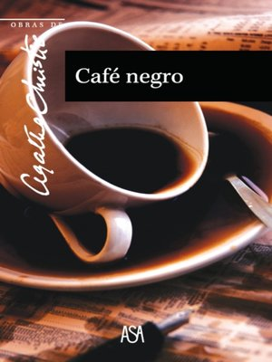 cover image of Café Negro