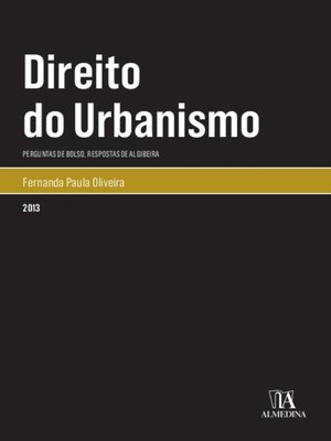 cover image of Direito do Urbanismo Perguntas de Bolso, Repostas de Algibeira