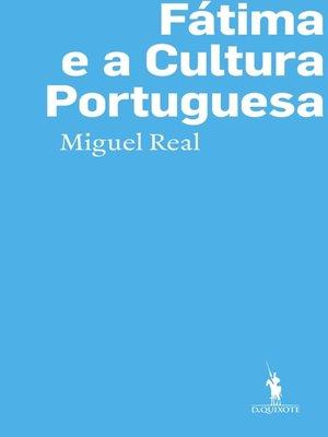 cover image of Fátima e a Cultura Portuguesa