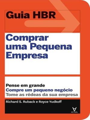 cover image of Comprar uma pequena empresa