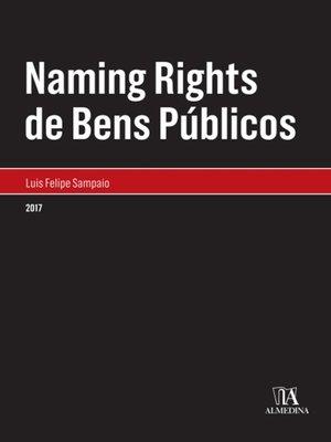 cover image of Naming Rights de Bens Públicos