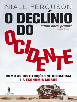 cover image of O Declínio do Ocidente
