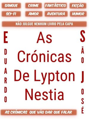 cover image of As Crónicas De Lypton Nestia