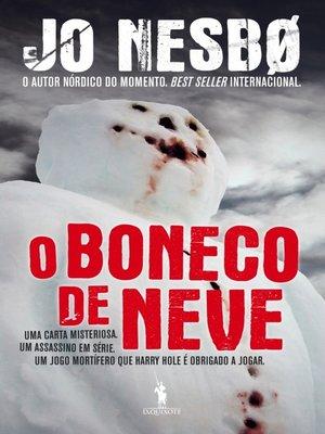 cover image of O Boneco de Neve