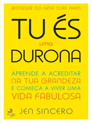 cover image of És Uma Durona!