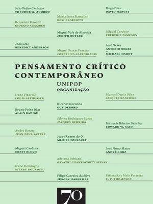 cover image of Pensamento Crítico Contemporâneo