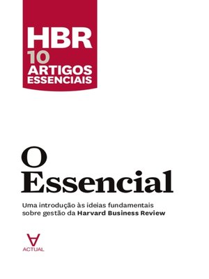 cover image of O Essencial
