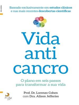 cover image of Vida Anticancro
