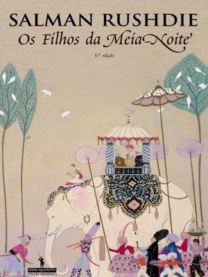 cover image of Os Filhos da Meia-Noite