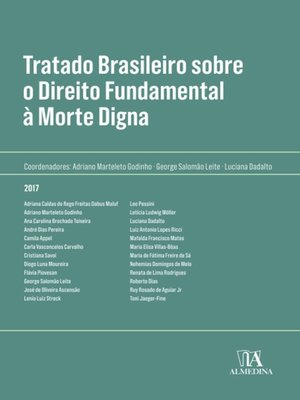 cover image of Tratado Brasileiro sobre Direito Fundamental à Morte Digna