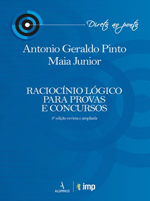cover image of Raciocínio lógico para provas e concursos